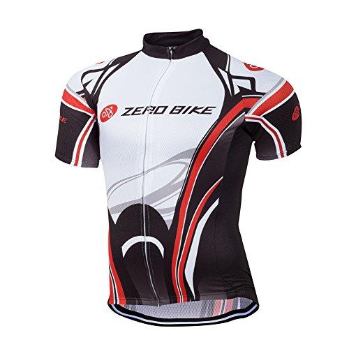 ELEAR® Maglia da uomo a maniche corte per ciclismo Maglia da corsa Abbigliamento casual impermeabile