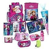 Disney Frozen EISKÖNIGIN 16 TLG. lila Set Schulranzen RANZEN SCHULTÜTE