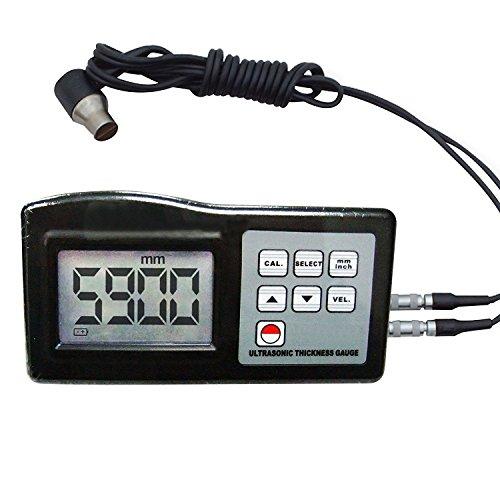 Preisvergleich Produktbild LandTek Instruments Ultraschall-Dickenmessgerät Meter Digital 1,00 bis 200.00mm Metall / Nichtmetall