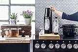 SodaStream Easy PROMOPACK Wassersprudler zum Sprudeln von Leitungswasser, ohne schleppen!  mit 1 Zylinder, 2* 1L PET Flasche (BPA FREI!), 2 Design Trinkgläsern sowie 6 Sirupproben; Farbe: schwarz für SodaStream Easy PROMOPACK Wassersprudler zum Sprudeln von Leitungswasser, ohne schleppen!  mit 1 Zylinder, 2* 1L PET Flasche (BPA FREI!), 2 Design Trinkgläsern sowie 6 Sirupproben; Farbe: schwarz