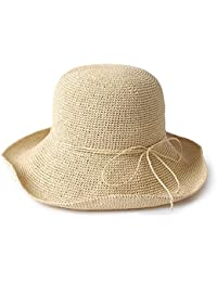 ZHANWEI Sombrero para el sol sombrero de playa Temporada de verano Mujer  Sombrero de pescador Papiro 5154b894be6