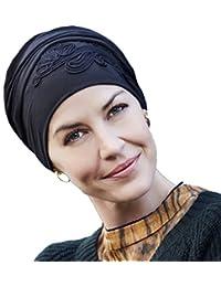 840095801bdca Gorro pañuelo oncologico Shakti 0211 bordado para mujeres con alopecia