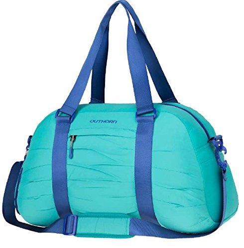 OUTHORN Moderne Sporttasche Reisetasche 31 L Riementasche für Fitness Gym Urlaub TPU628 SW16 Türkis