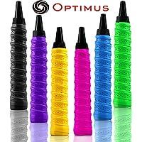 Optimus® Onex Multipurpose Overgrip Tape Racket Grip Tape(PU)-for Badminton/Tennis/Squash/TT Racquets, Baseball Bats, Bicycle Handlebars, Fishing Rods, Walking Sticks Etc