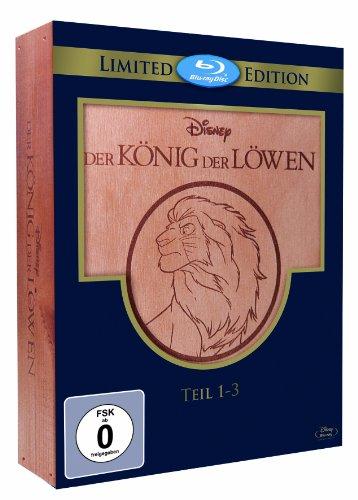 Der König der Löwen 1-3 - Trilogie (Holzbox) [Blu-ray] [Limited Edition]