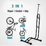 Teraysun Mehrzweck-Fahrradständer, L-Form, für Reparaturen und die Fahrradaufbewahrung