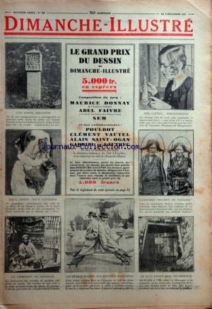 DIMANCHE ILLUSTRE [No 458] du 06/12/1931