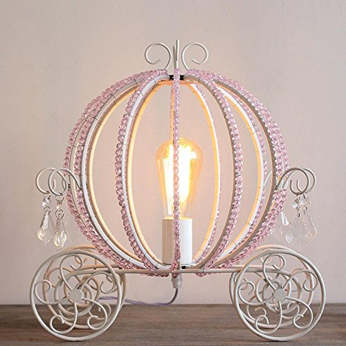 DLUF Cristallo zucca Lampada da tavolo da letto Soggiorno comodino lampada moderna stile creativo luci