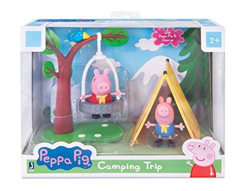 Peppa Pig Camping Spaß 92695 - Spielset mit -