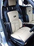 R–Convient pour Skoda Citigo (Généralement Prix Plus élevé pour Housse de siège) de voiture, housses de siège, Ys01Recaro, crème/noir