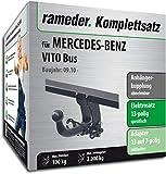 Rameder Komplettsatz, Anhängerkupplung abnehmbar + 13pol Elektrik für Mercedes-Benz VITO Bus (143023-05013-1)