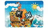 Holz-Puzzle Piratenschiff, 130 Teile