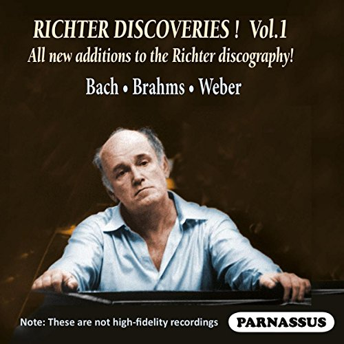 Sviatoslav Richter discoveries, vol. 1 : Bach, Weber.
