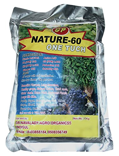 SRI NAVALADY AGRO ORGANICSS Nature 60-One Touch Yield Increaser (Black, 3 kg)