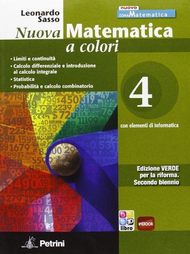Nuova Matematica a colori. Edizione VERDE. Con eBook: 4