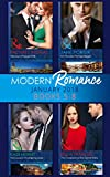 Modern Romance Collection: January Books 5 - 8: Martinez's Pregnant Wife / His Merciless Marriage Bargain / The Innocent's One-Night Surrender / The Consequence ... Deny (Mills & Boon e-Book Collections)