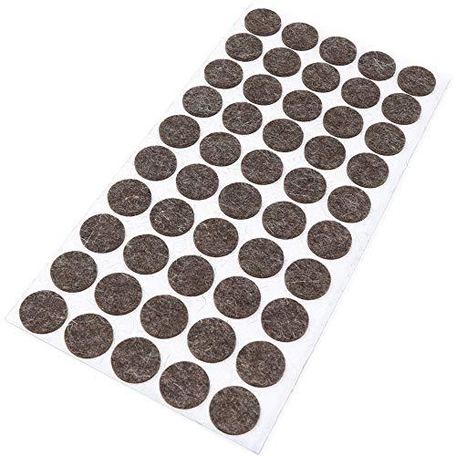 Adsamm® - 50 tacos fieltro lana 20 mm diámetro
