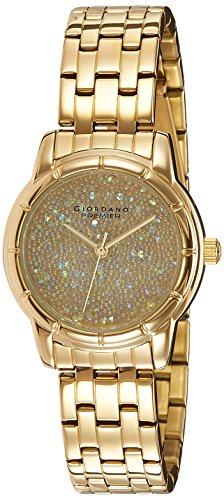 Giordano Analog Gold Dial Women's Watch - P2033-22 image