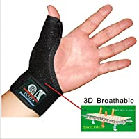 IRUFA 3D Breathable Daumenbandage Daumenorthese Daumenschutz Daumenschiene rechts links preisvergleich bei billige-tabletten.eu
