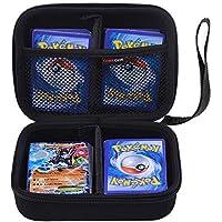 Comecase - Carcasa rígida para cartas intercambiables de PokemonCon capacidad para hasta 360cartas.Incluye 2divisores extraíbles.