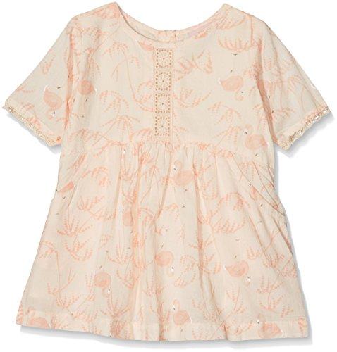 NOA NOA MINIATURE Baby-Mädchen Kleid Voile Printed Rosa (Pink Tint 637), 86 (Herstellergröße: 18M) (Voile-kleid Rosa)