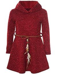 2c999c2d1ba6 Suchergebnis auf Amazon.de für  kapuzen kleid - Rot   Mädchen ...