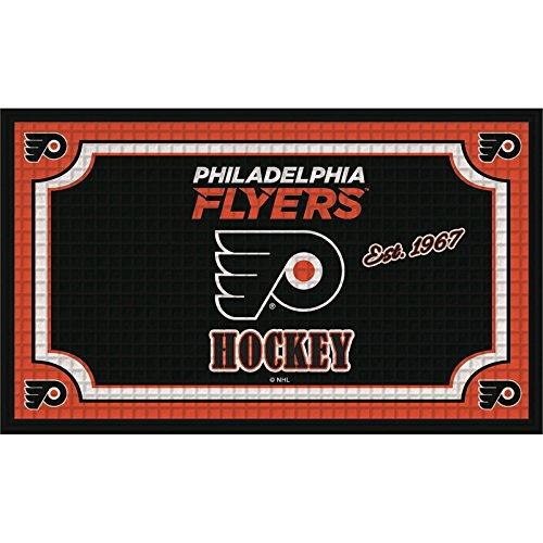 Team Sport Amerika 41em4370b geprägt Tür mat-Philadelphia Flyer, Multicolor