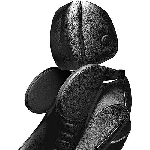 Auto Kopfstütze Kinder - XREXS Nackenkissen Auto Breite und Höhe einstellbar, Pu-leder mit weichem gedächtnisschaum, für kinder und erwachsene, Nackenstütze Auto