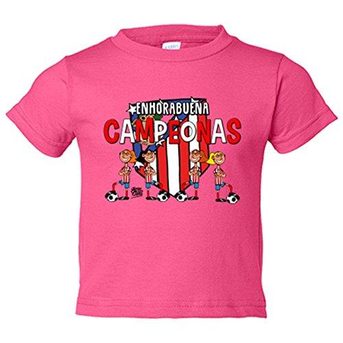 Camiseta niño Atlético Madrid Féminas campeonas