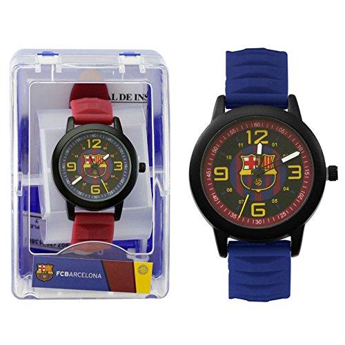 34edb90262b12 Seva Import Reloj pulsera cadete FC Barcelona analogico surtido