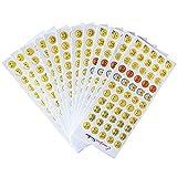 Emoji Sticker 660 Stück Emoji Aufkleber coole...Vergleich