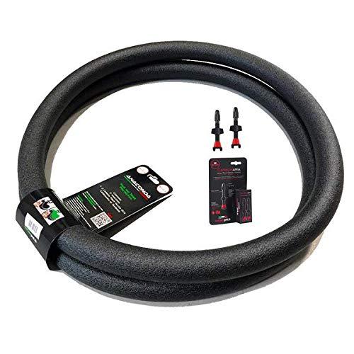 Barbieri an/29M par de Espuma de protección neumático para Adulto, Color Negro