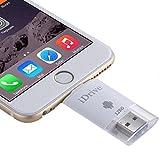 2 in 1 Micro USB 2.0 und 8 Pin USB iDrive iReader Flash Memory Stick für iPhone 6 und 6s, iPhone 6 Plus und 6s Plus, Galaxy S6 / S5 128 GB