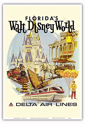 walt-disney-world-florida-primo-funzionamento-anno-delta-air-lines-stile-vintage-retro-per-volo-soci