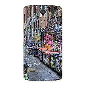 Cute Color Art Streets Multicolor Back Case Cover for LG G3 Stylus