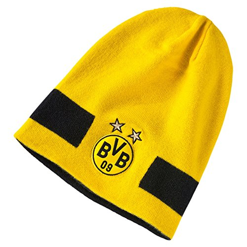 PUMA Mütze BVB Performance Beanie Cyber Yellow Black, One Size -