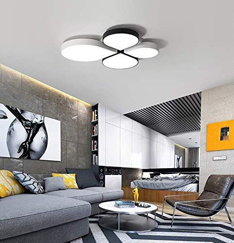 LCTCXD LED geometrische Deckenleuchte, Kreative Fernbedienung Verdunkelung der Hellen Kronleuchter Pendel Erröten-Einfassung Acryl Jewel Effekt for Esszimmer Wohnzimmer Küche Treppen