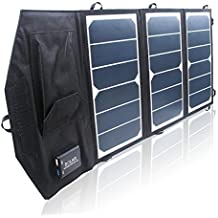 Generic High Efficiency 21W Solar Charger For iPhone/Mobile Power Bank Solar Panels Foldable Outdoor Dual USB Sunpower