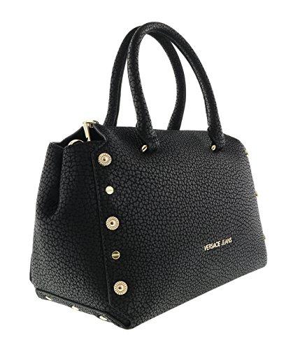 Versace Leder Jeans (Versace Jeans E1VQBBM1_75459 Damen Handtaschen Leder Schwarz)