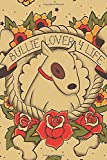 Bullie Lover 4 Life: Tattoo Terrier Notebook, Journal for Writing, Size 6' x 9', 164 Pages
