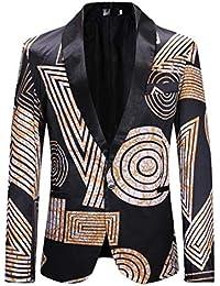 Chaqueta de Traje para Hombre,STRIR Chaquetas para Hombre de Vestir Blazer Hombre Casual Chaqueta