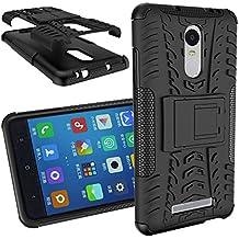 BCIT XiaoMi RedMi Note 3/Note 2 Pro Cover - Alta calidad Escabroso Durable Estuche protector TPU/PC funda carcasa case para XiaoMi RedMi Note 3/Note 2 Pro - Negro