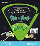 USAopoly Rick and Morty Trivial Pursuit Board Game - Ingles