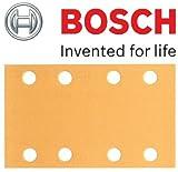 Bosch Genuine Klett Best for Wood Schleifblätter, Grit=180 (Montage - Bosch PSS 2 A, PSS 200 A, PSS 250 A, PSS 250AE, GSS 23AE, GSS 230 A, GSS 230AE, GSS 230AVE Schleifer) (keine Bosch Pt 2608607927) (, 1 Packung mit 50 Blatt) C/W KeyTape STANLEY
