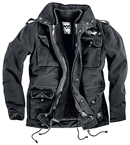 Black Premium by EMP Army Field Jacket Giacca nero S