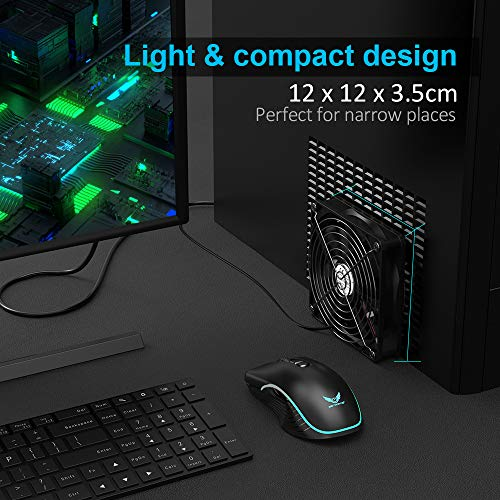 ELUTENG 120mm USB Lüfter  L/M/H 3 Bild 3*