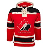 Old Time Hockey NHL Team Canada Lacer Jersey Hood Small
