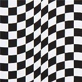 Stoff mit karierter Rennflagge in Schwarz und Weiß von Timeless Treasures