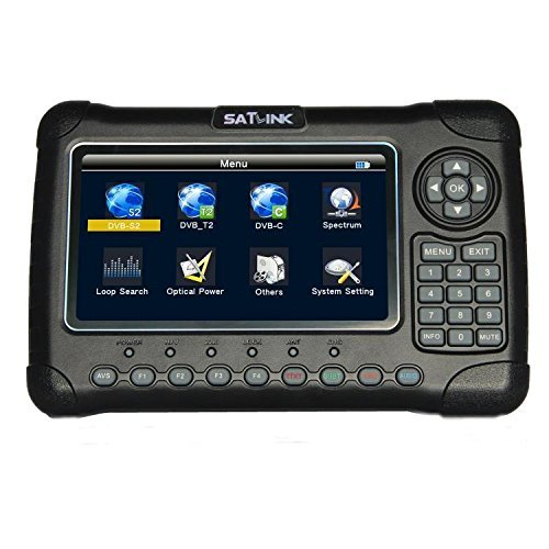 Satlink 6980 - Rilevatore satélite DVB-S2 + DVB - C DVB-T2 Misuratore para