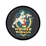 "Mc Sid Razz Official DC Comics- Wonder Women Comic 2""Wall Clock Gift Set"